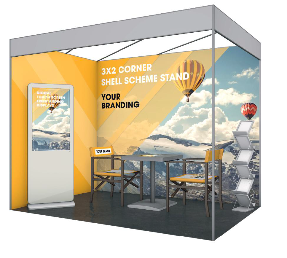 Exhibition Shell Hire : Exhibition display services absolute signs graphics